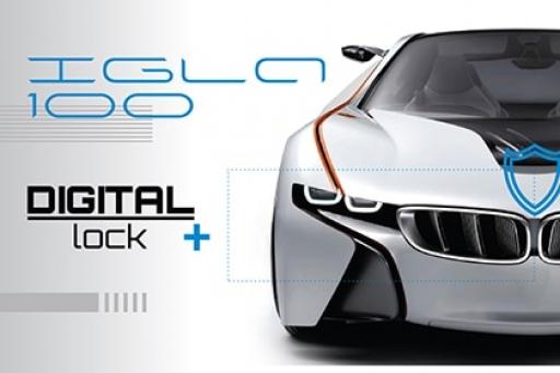 Новая IGLA 100 – универсальная цифровая блокировка
