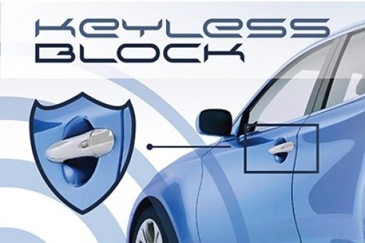 KEYLESS BLOCK: максимальная защита  даже в базовой комплектации